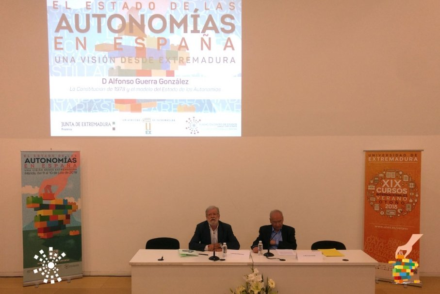 Segunda ponencia - D. Alfonso Guerra González