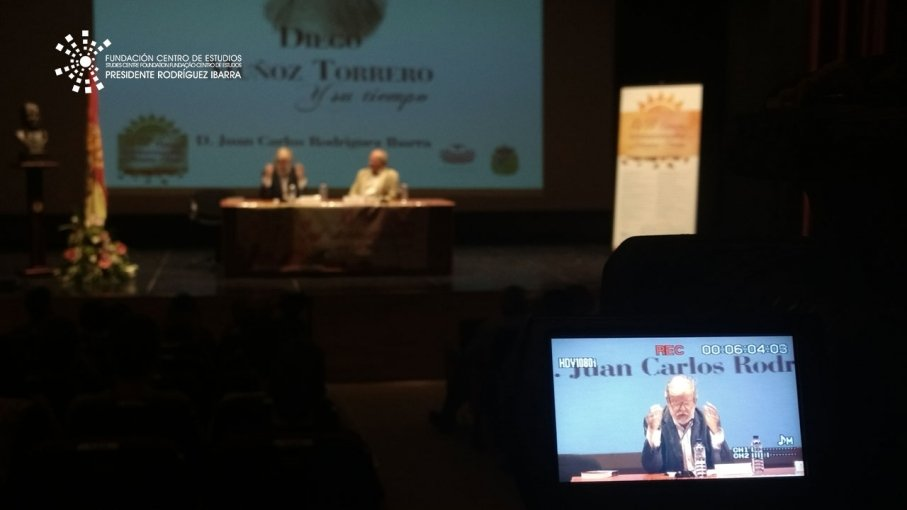 Conferencia de Juan Carlos Rodríguez Ibarra